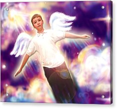 Archer. Angelic 5 Acrylic Print by Nada Meeks