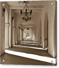 Acrylic Print featuring the photograph Arches II by Ryan Weddle