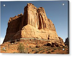 Arches N P The Courthouse Towers View Acrylic Print by Paul Cannon