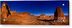 Arches National Park Acrylic Print by Larry Carr