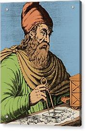 Archimedes, Ancient Greek Polymath Acrylic Print
