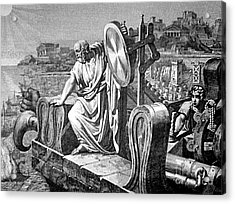 Archimedes Heat Ray, Siege Of Syracuse Acrylic Print by Science Source