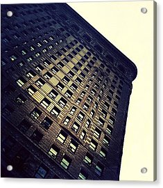 Architectural Angle Acrylic Print