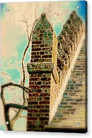 Architectural Art Acrylic Print by Cindy Wright