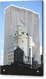 Acrylic Print featuring the photograph Architectural History-nyc by Mary McAvoy