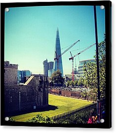 #architecture #london #uk #sky Acrylic Print