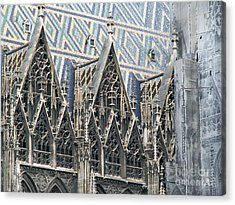 Architecture Of Vienna Acrylic Print by Evgeny Pisarev