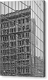 Architecture Reflections Acrylic Print by Susan Candelario