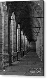Archs At Lagenzia Pollenzo Acrylic Print by Malu Couttolenc