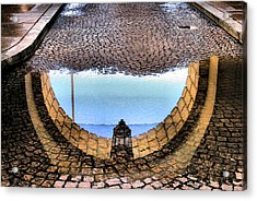 Archway Reflections Acrylic Print by Steven Ainsworth