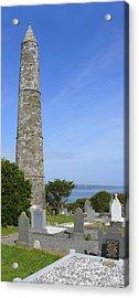 Ardmore Round Tower - Ireland Acrylic Print by Mike McGlothlen