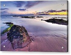 Ardrossan Sunset Acrylic Print