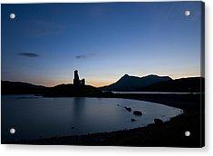 Ardvreck Castle Acrylic Print by Laura Melis