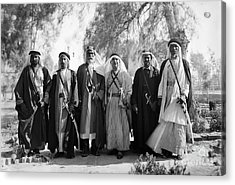 Aref Al-aref (1892-1973) Acrylic Print by Granger