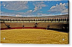 Arena De Toros - Sevilla Acrylic Print by Juergen Weiss