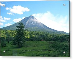 Acrylic Print featuring the photograph Arenal by Eric Tressler