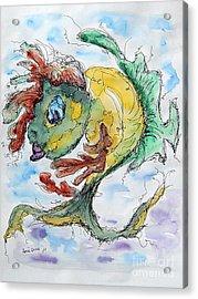 Ares Acrylic Print by Natasa Dobrosavljev