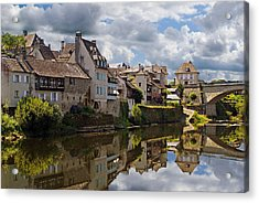 Acrylic Print featuring the photograph Argentat by Rod Jones