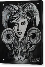 Aries The Ram Acrylic Print