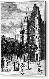Aristocrat Prisoners, C1793 Acrylic Print by Granger