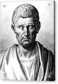 Aristotle, Ancient Greek Polymath Acrylic Print by Science Source