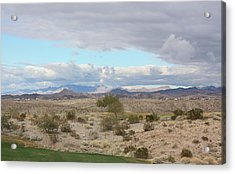 Arizona Desert View Acrylic Print