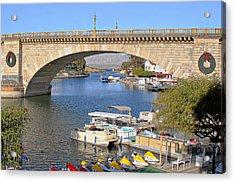 Arizona Import - Iconic London Bridge Acrylic Print by Christine Till