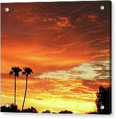 Arizona Sunrise 02 Acrylic Print by Rand Swift