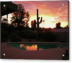 Arizona Sunrise 04 Acrylic Print by Rand Swift