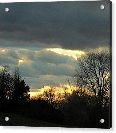 Arkansas Sky Acrylic Print