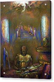 Armor Of God Acrylic Print by Tommy  Winn