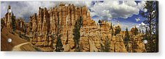 Acrylic Print featuring the photograph Around The Bend At Bryce Canyon by Gregory Scott
