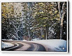 Acrylic Print featuring the photograph Around The Bend by Lisa  Spencer