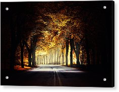 Around The Bend... Acrylic Print by Marek Czaja