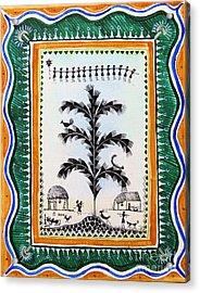 Around The Tree Acrylic Print by Anjali Vaidya