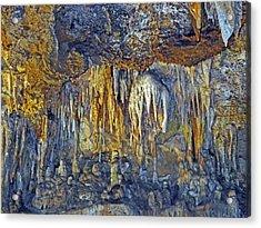 Array Of Stone Acrylic Print by Lynda Lehmann