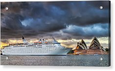 Arrival Of Gloom Acrylic Print