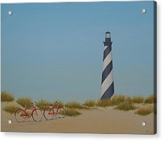 Arriving At Cape Hatteras Acrylic Print