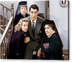 Arsenic And Old Lace, From Left Acrylic Print by Everett