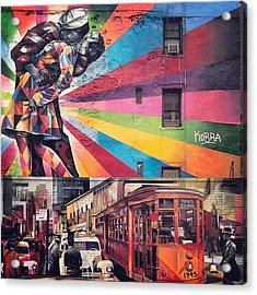 Art By Kobra Acrylic Print