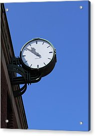 Art Deco Clock Acrylic Print