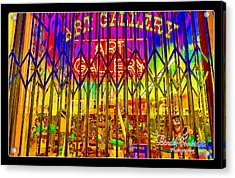 Art Gallery Acrylic Print by Linda Constant