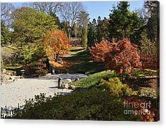 Art In The Gardens Acrylic Print by Denise Ellis