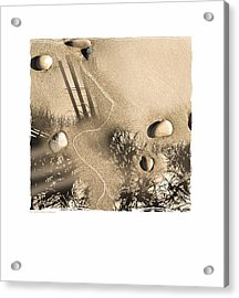Art In The Sand Series 3 Acrylic Print