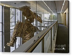 Art Installation Acrylic Print by Robert Pisano