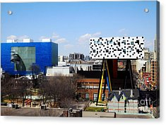 Art Institutions In Toronto Acrylic Print by Charline Xia