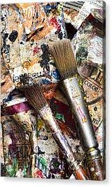 Art Is Messy 1 Acrylic Print