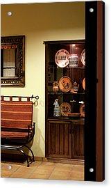 Acrylic Print featuring the photograph Artful Doorway by Lorraine Devon Wilke