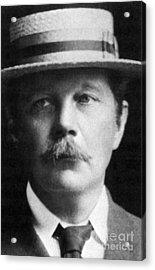 Arthur Conan Doyle, Scottish Author Acrylic Print by Science Source