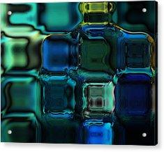 Artisan Glass Acrylic Print